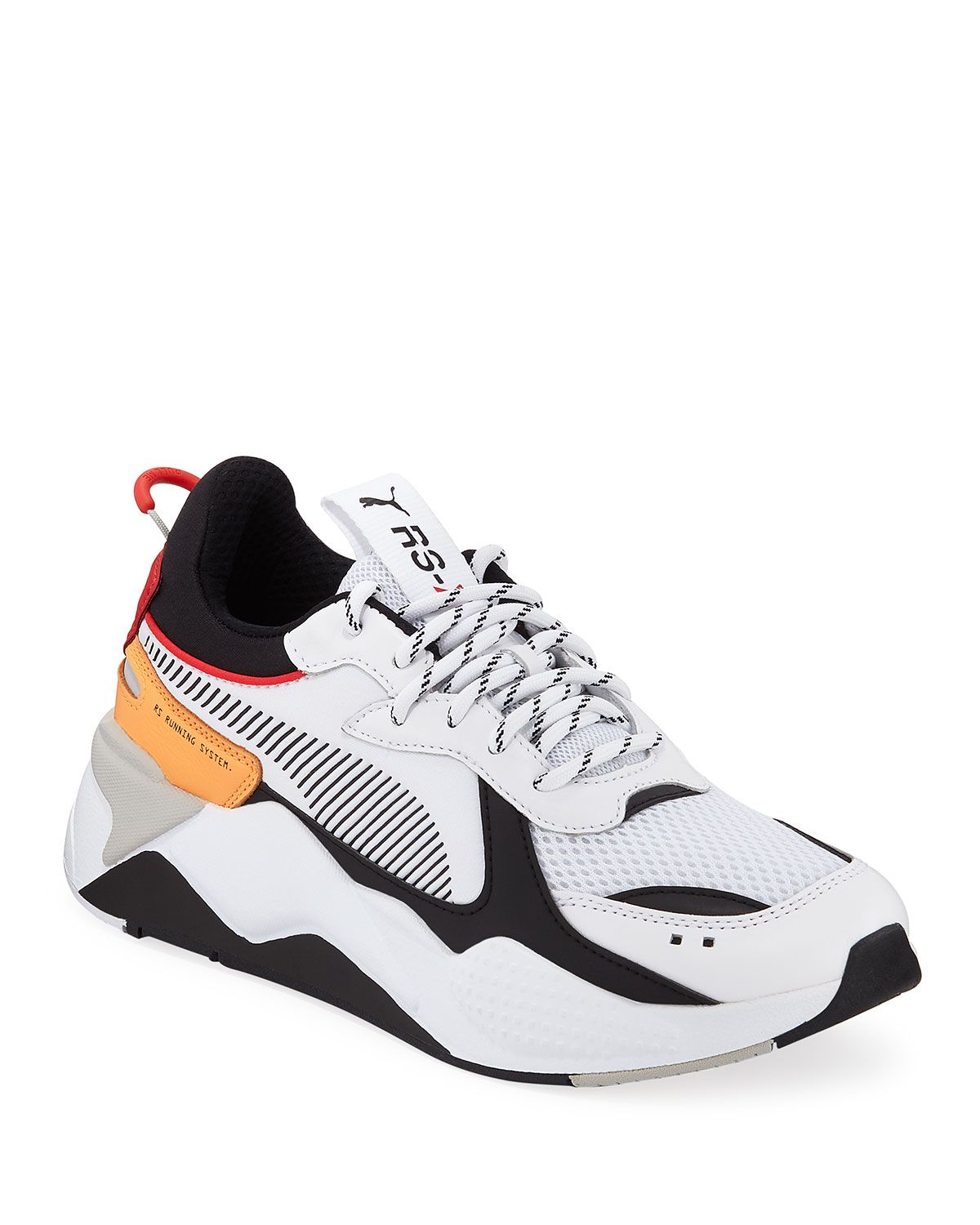 Men's Rs-x Tracks Trainer Sneakers In White | Puma sneakers ...