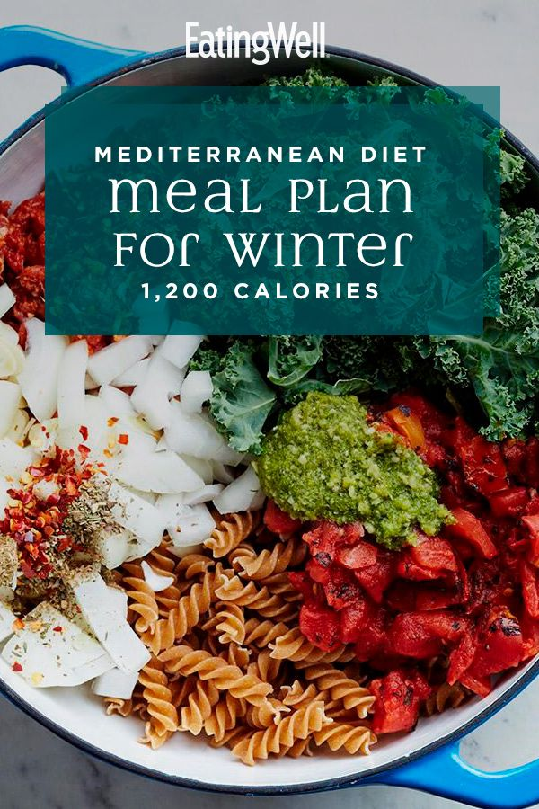 Mediterranean Diet Meal Plan for Winter