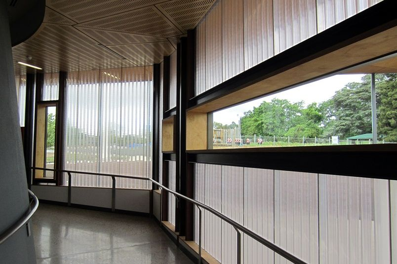 Everbright Polycarbonate Wall Panels Used At The