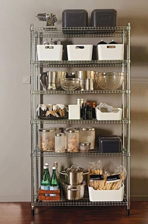 free standing stainless steel kitchen shelves | Free Standing ...