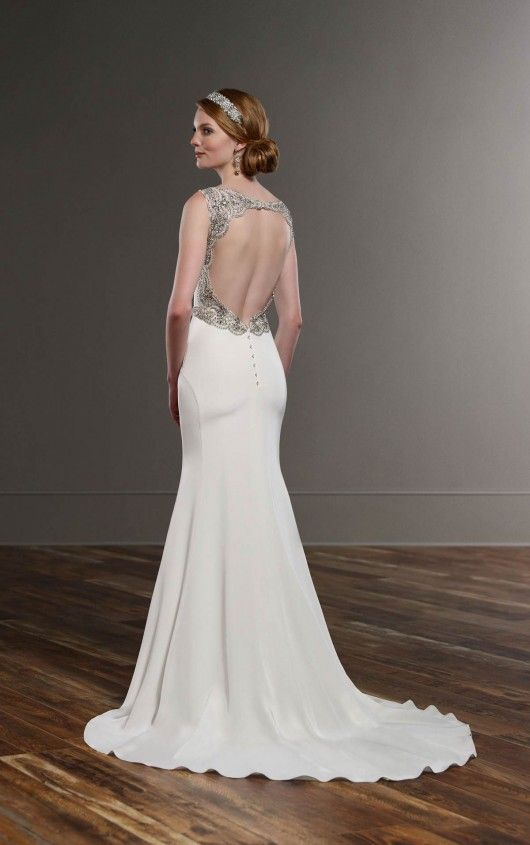 Sophisticated Silk Wedding Gown | Sophisticated wedding, Gowns and ...