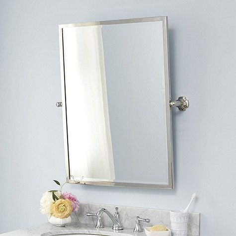 Laurens Pivot Bath Mirror Small For Upstairs With Images Bath