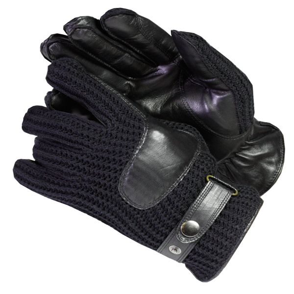 24d0ba0ee Isotoner Men's Knit and Leather Cold-weather Gloves with Thinsulate ...