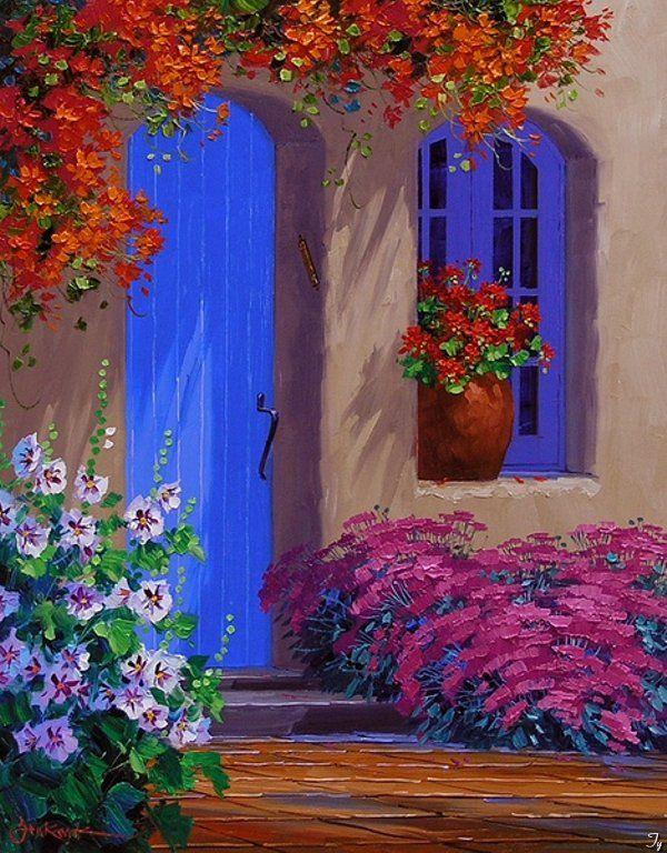 Mikki Senkarik Porte e balconi Pinterest Portes, Portes - Peinture Porte Et Fenetre
