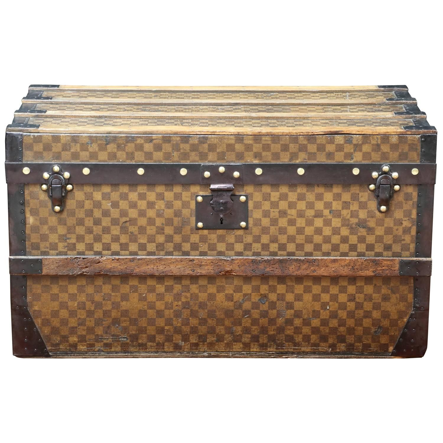 8e27c9cdf44f Louis Vuitton Damier Ebene Grimaud Cabin Size Travel Luggage Bag -rt ...