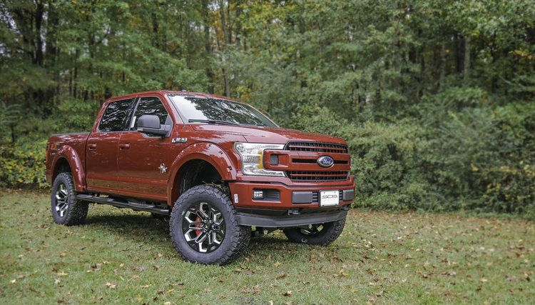 Sca Ford F 150 Black Widow Ruby Red Lifted Trucks Ford Trucks Trucks