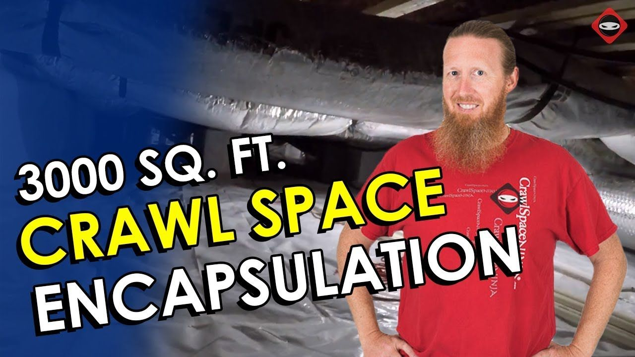 Crawl space encapsulation knoxville tn after video set to