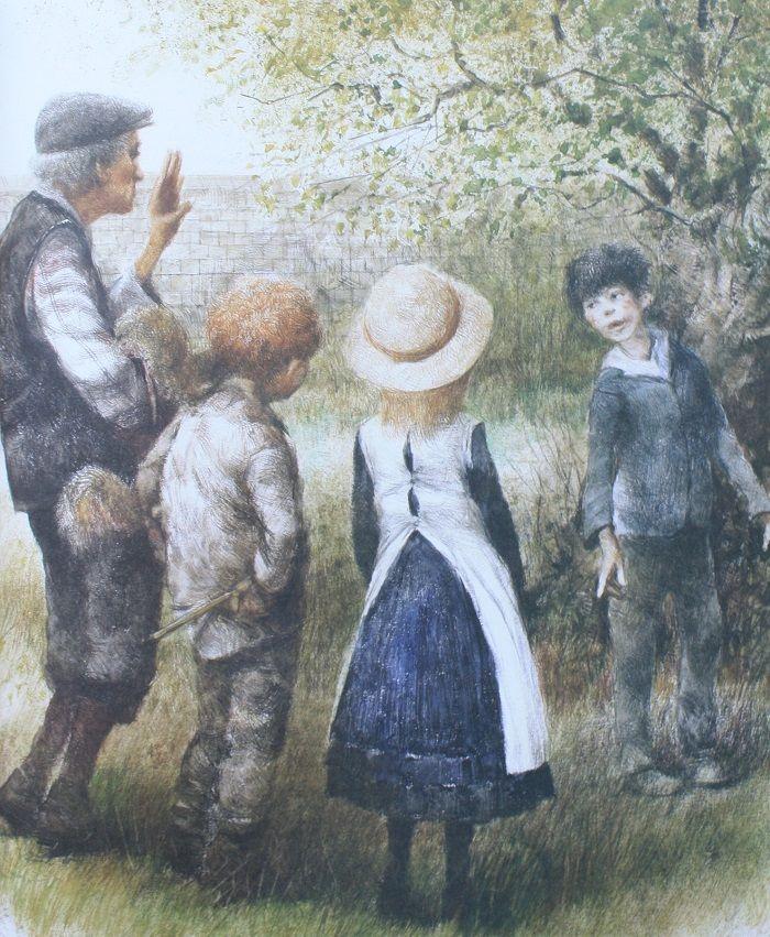 The Secret Garden illustrated by Robert Ingpen   Садовые ...