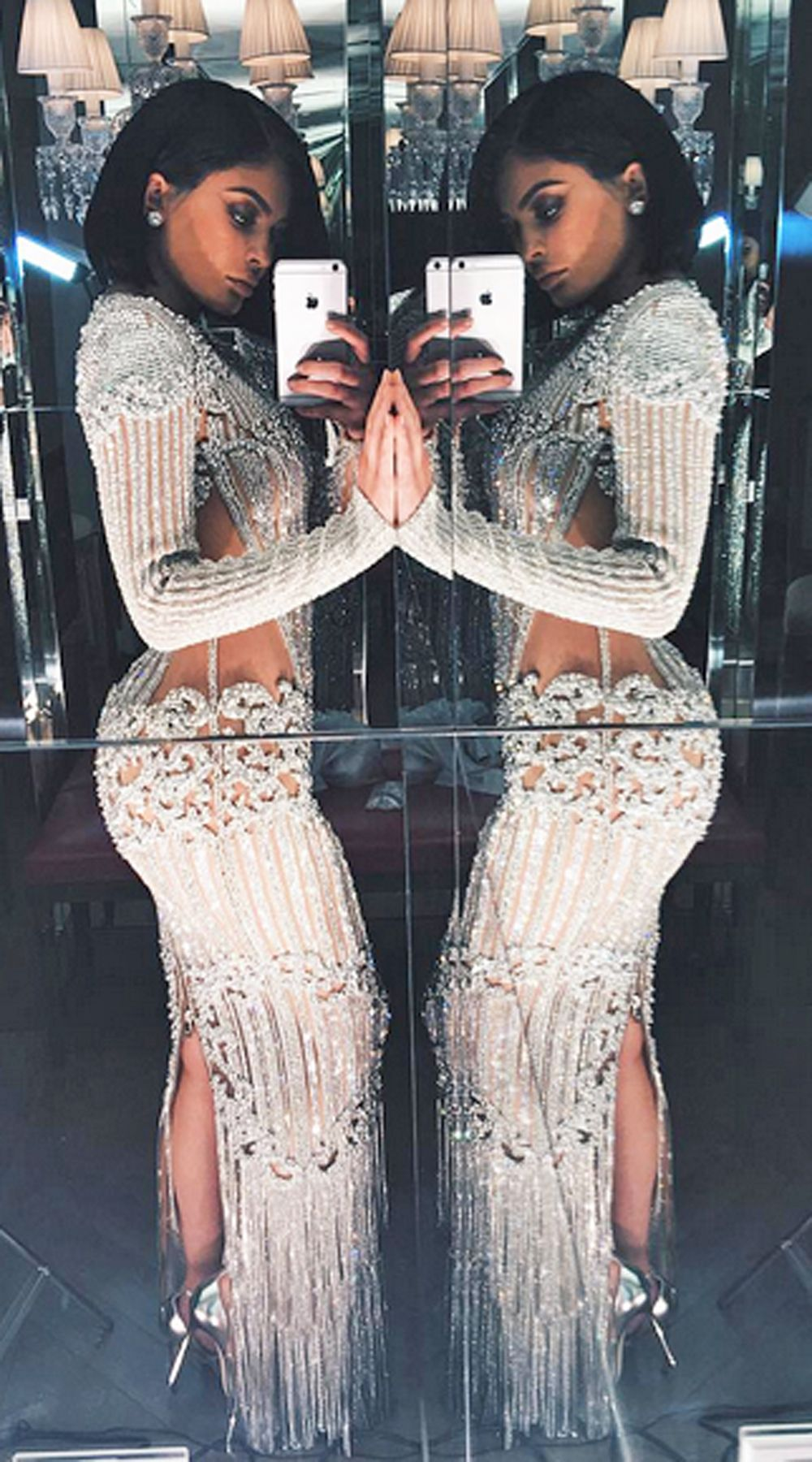 a3caf86a Kylie Jenner Shocks Everyone With Her MET Gala Hair | Evening wear ...