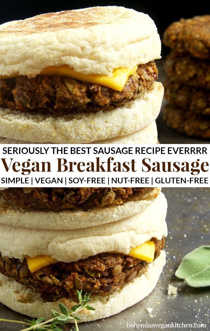 Photo of Seriously the best vegan breakfast sausage recipe ever – this is on the he …