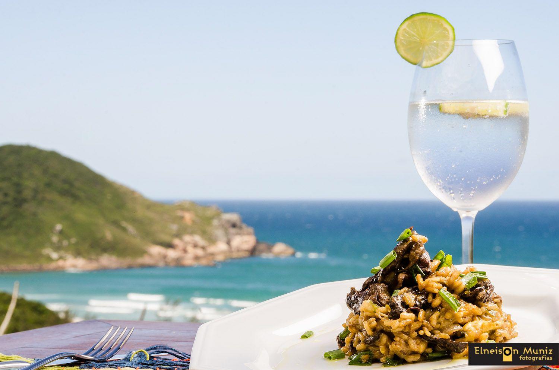 Paraíso! (Restaurante Urucum, Praia do Rosa, SC, Brasil)