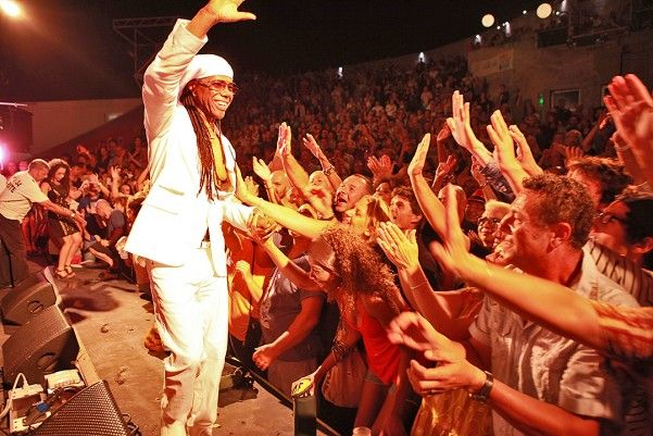 Chic feat. Nile Rodgers @ Fiest'A Sète 2013