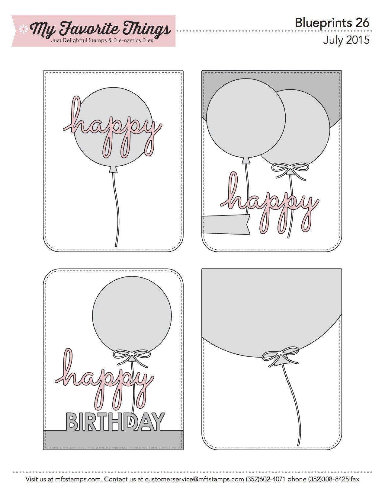 Mft printable resources blueprints sketches cards sketches birthdays bookmarktalkfo Choice Image