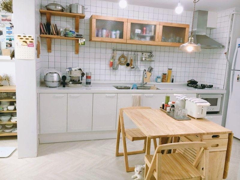 온라인 집들이 - 오래된 21평 아파트 신혼집 셀프 인테리어 : 네이버 블로그