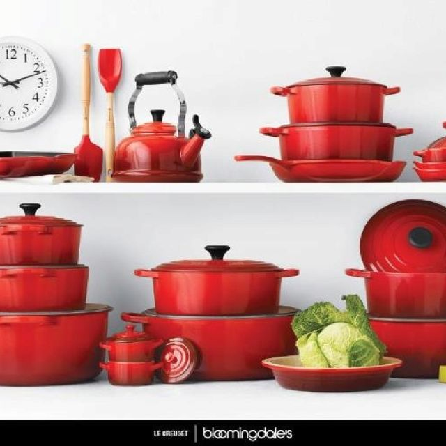Le Creuset Love The Red Need All Sizes