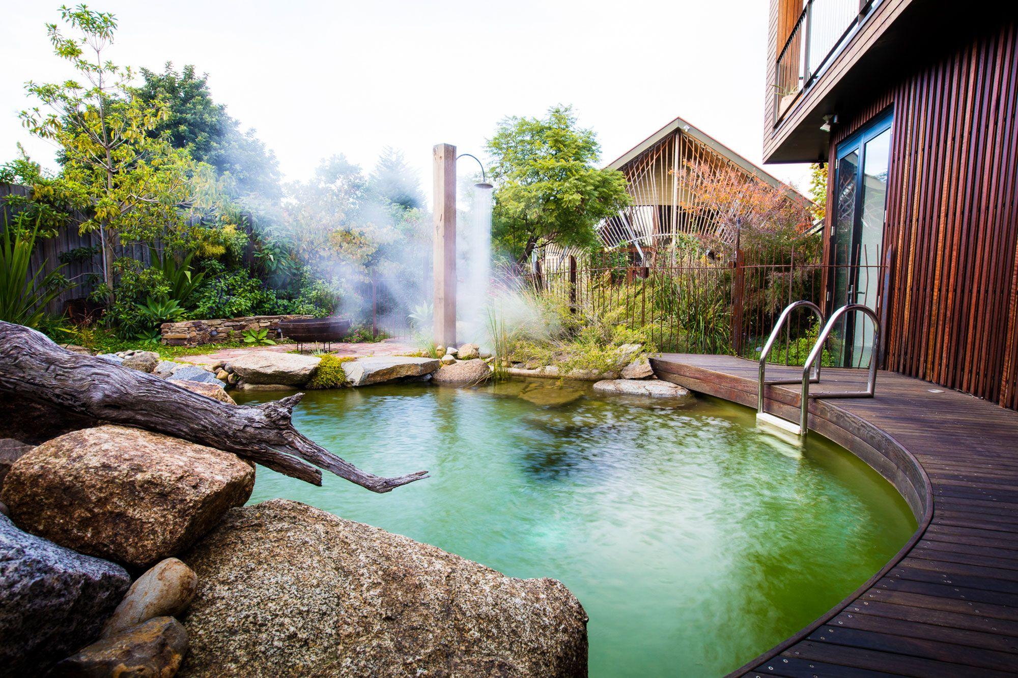 Phillip Johnson Landscapes Natural Pools Garden Design
