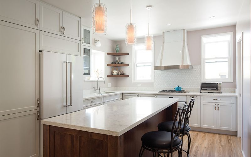 A Charming Old Manoa Kitchen Is Transitioned To The Present Used Kitchen Cabinets Kitchen Cabinets For Sale Kitchen Cabinet Remodel