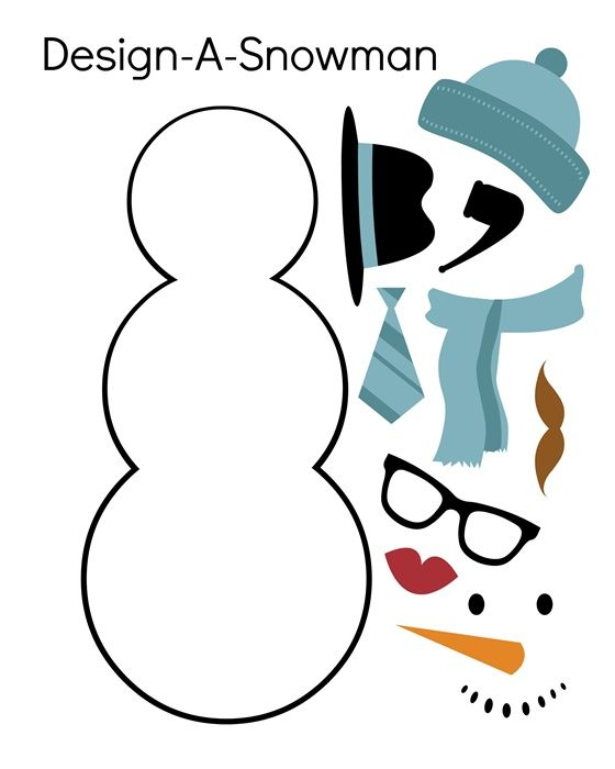 100 Best Christmas Ideas (Free Printables) {2 | Navidad, Molde y ...