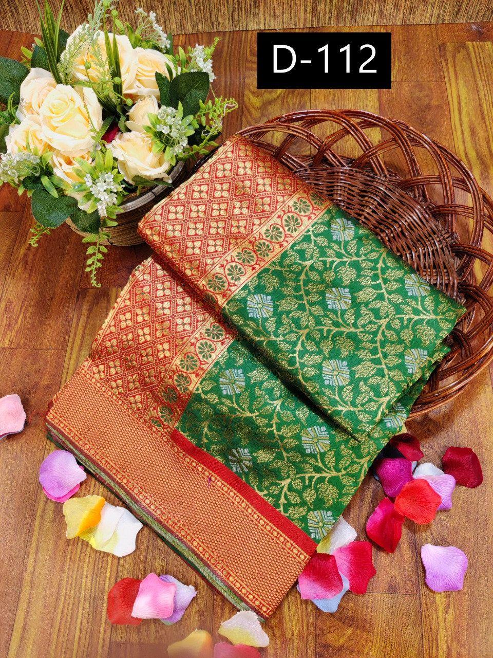 Kanchipuram Silk With Designer Grand Look Saree Stunning Look Party Wear Saree,exclusive Saree Beautiful Saree