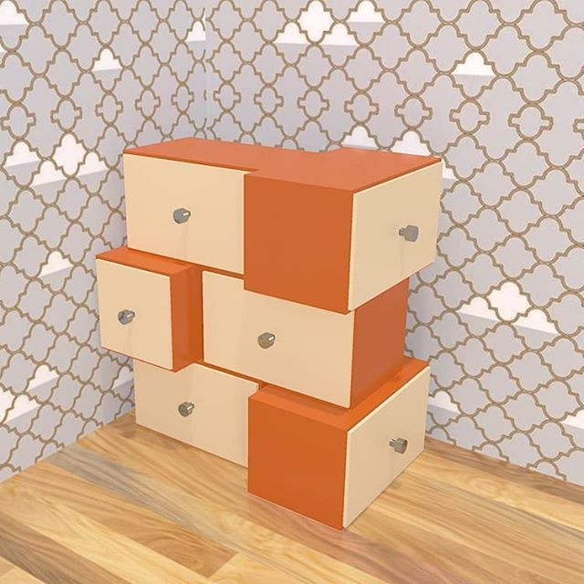 Do you like my work ? The boxes #furnituredesign #furniture ...