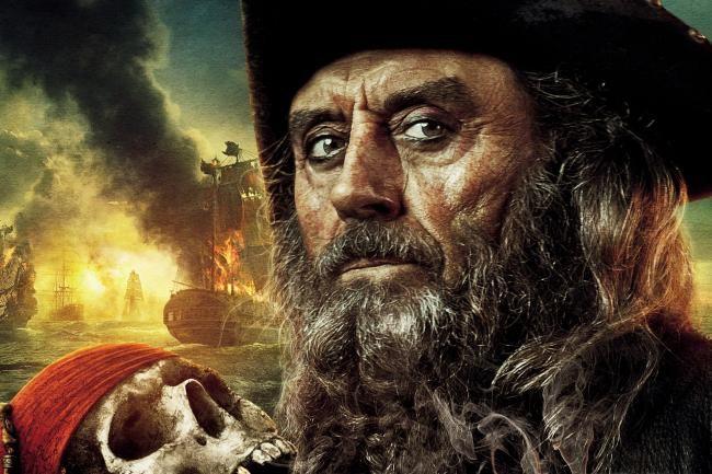 Ian McShane; Blackbeard; Pirates Of The Caribbean On Stranger Tides