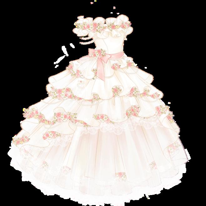 Feyre's spring court wedding dress mas Maas Pinterest