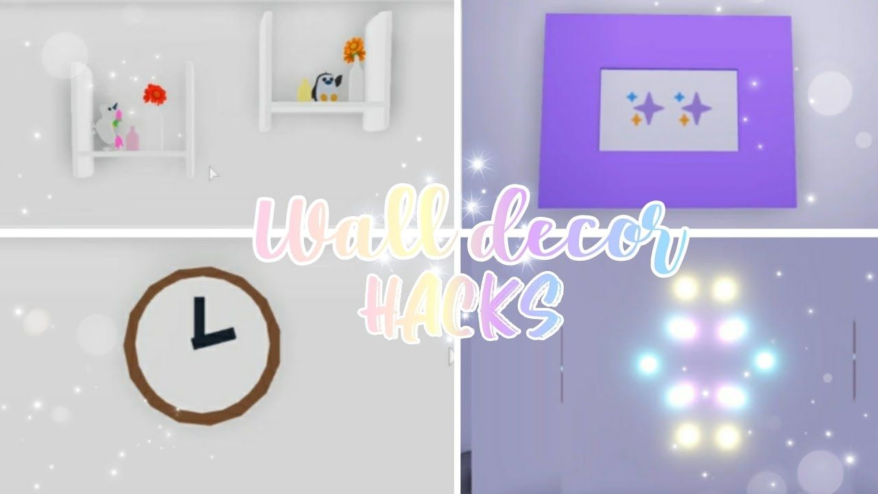 simple wall decor hacks adopt me building hacks on wall hacks id=52542
