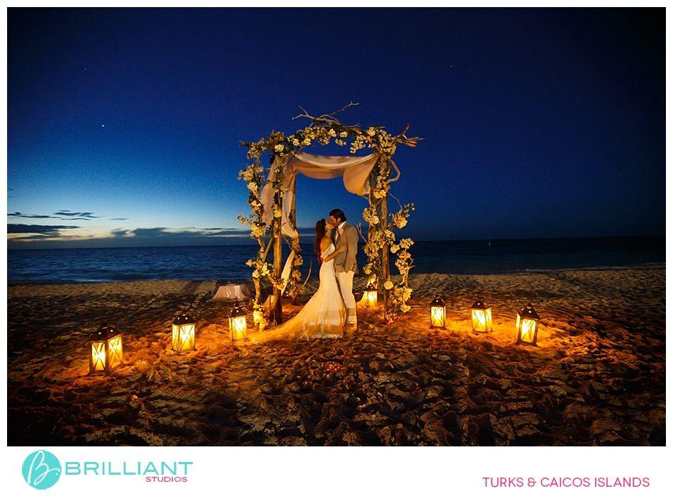 Big Destination Wedding Night Beach Weddings Caribbean Beach Wedding Beach Wedding Reception