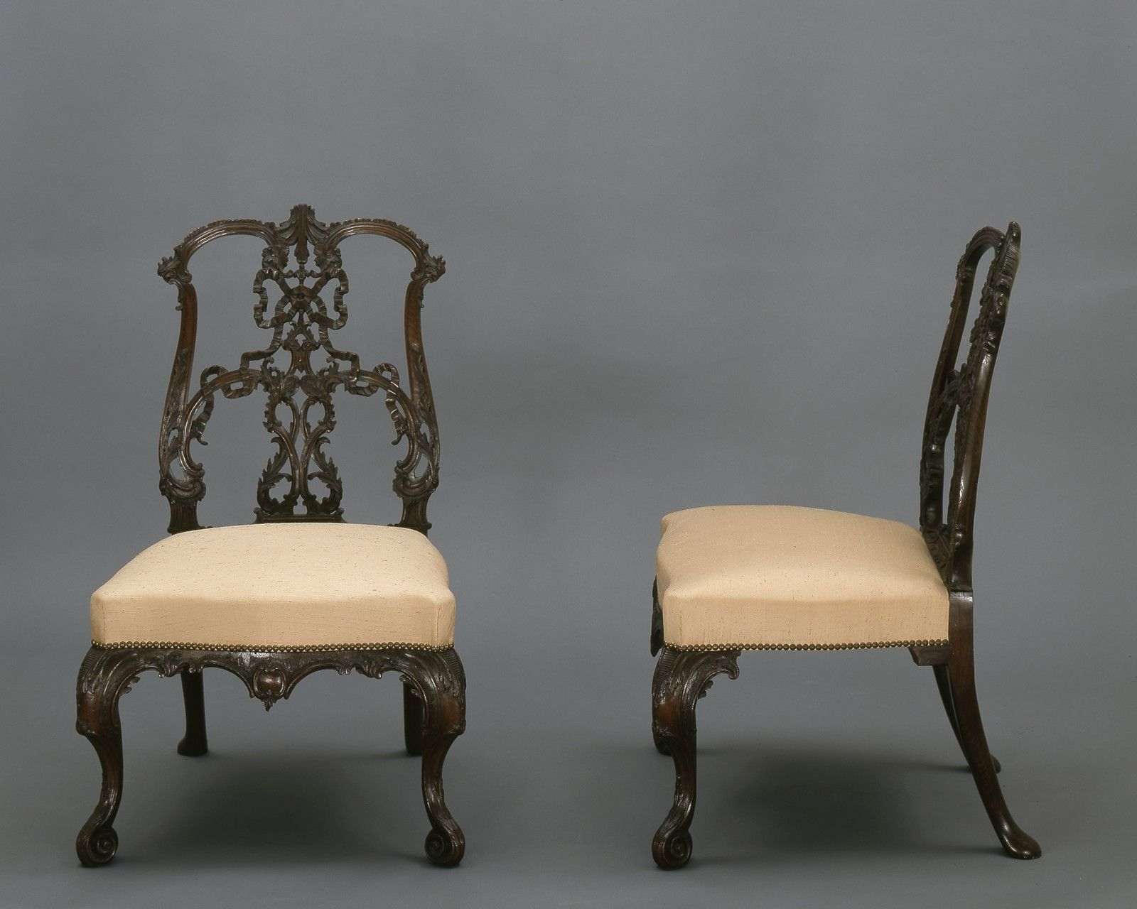 thomas chippendale british 1718 1779 side chair from a set of rh pinterest com