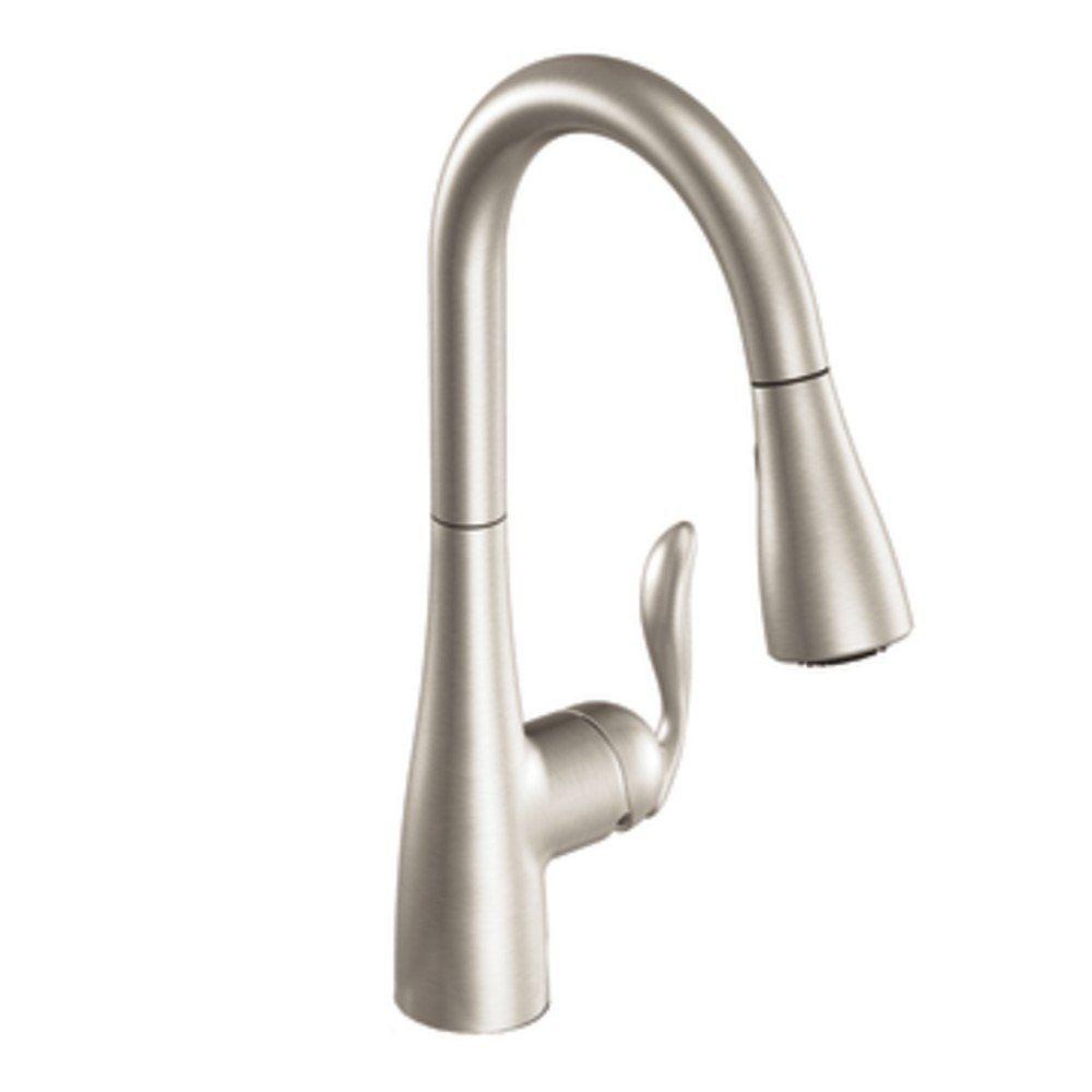 Kitchen Faucet - Moen Arbor - Stainless | Nagy Residence | Pinterest ...