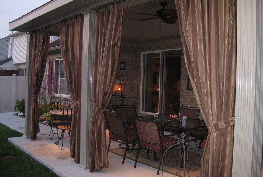 rideaux ext rieurs sur mesure black sun rideaux. Black Bedroom Furniture Sets. Home Design Ideas