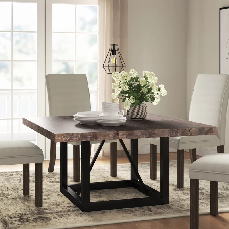 Kailey Dining Table Reviews Joss Main In 2020 Square Dining Table Decor Circle Dining Table Luxury Dining Tables