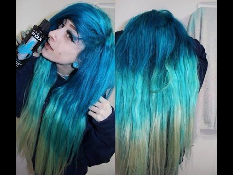 67fa643fdc5 Arctic Fox Hair Dye Review - YouTube
