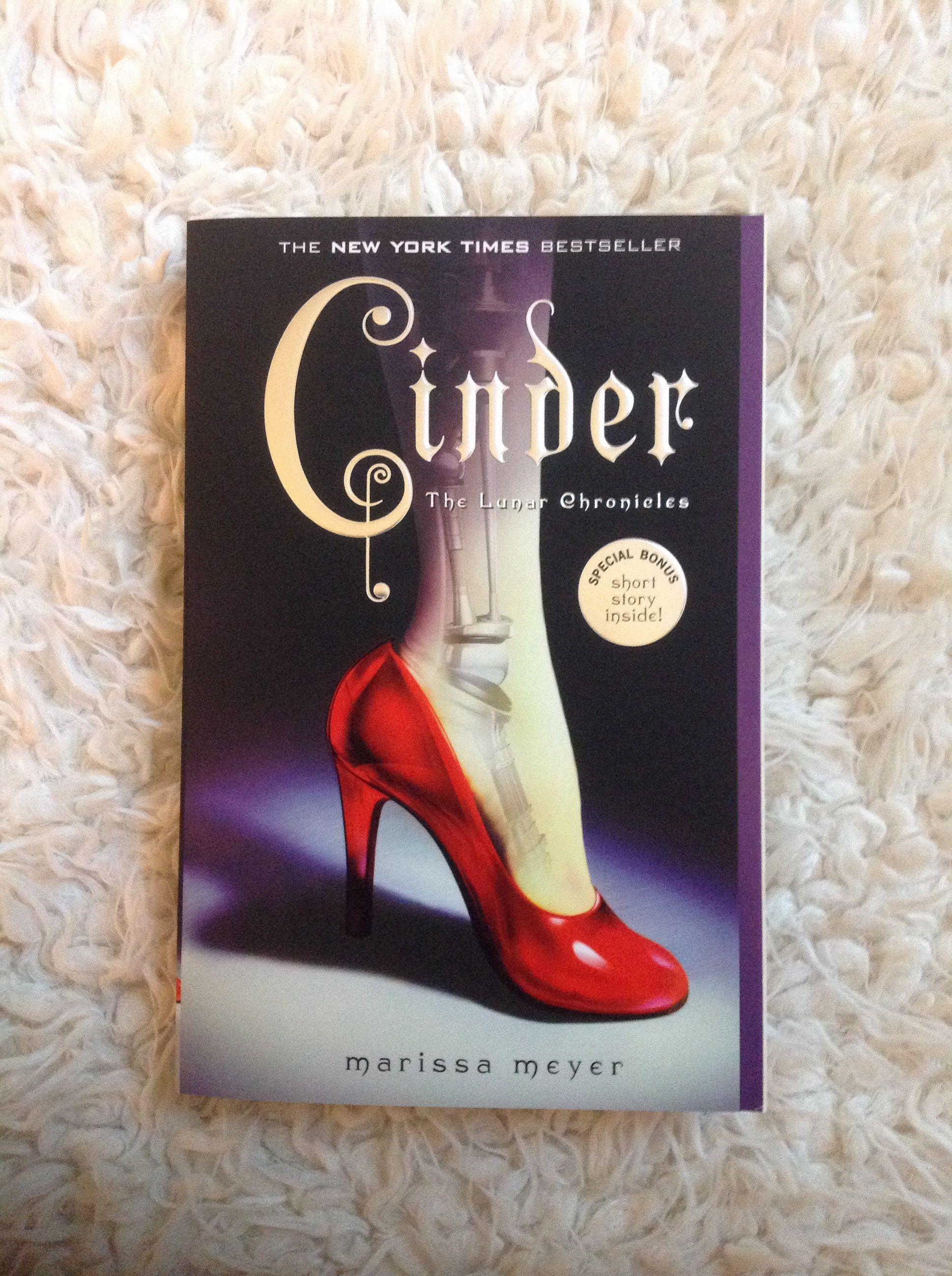 Book Photo (not mine): Cinder: Marissa Meyer