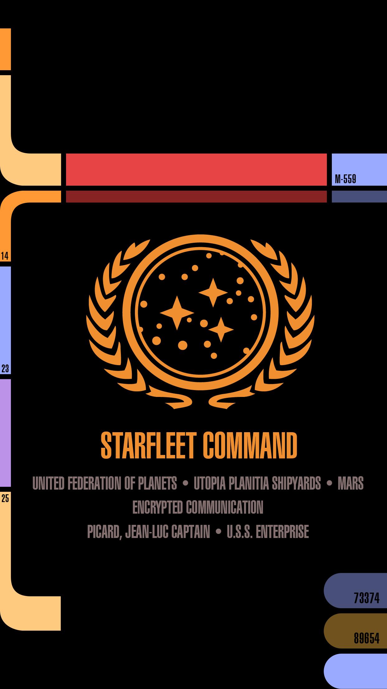 Lcars Iphone6plus Star Trek Wallpaper Star Trek Wallpaper Iphone Star Trek