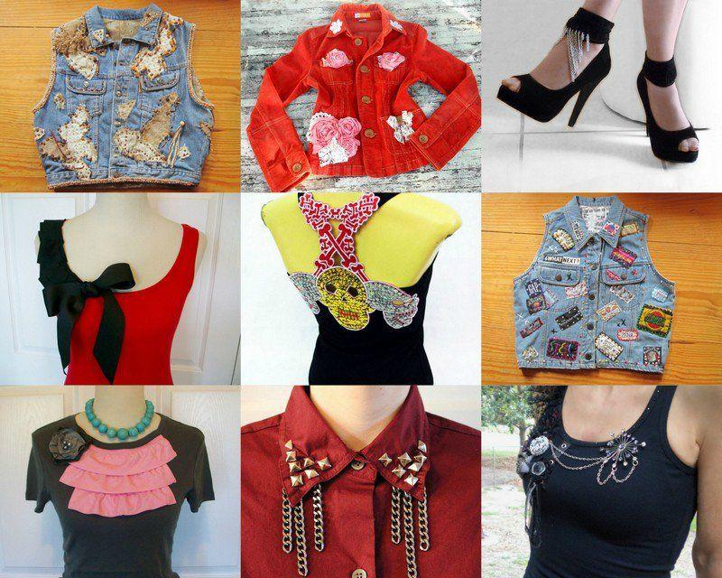 100 модных идей: Переделка старых вещей и одежды своими
