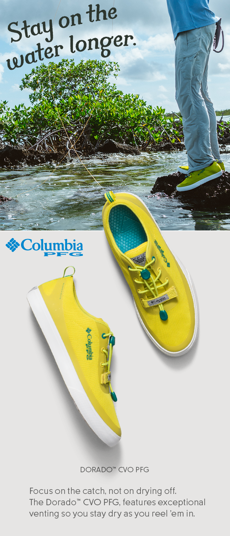 f9d54b376a0a Boat Shoes · The only thing standing between you and a great catch is soggy  feet. Our DORADO