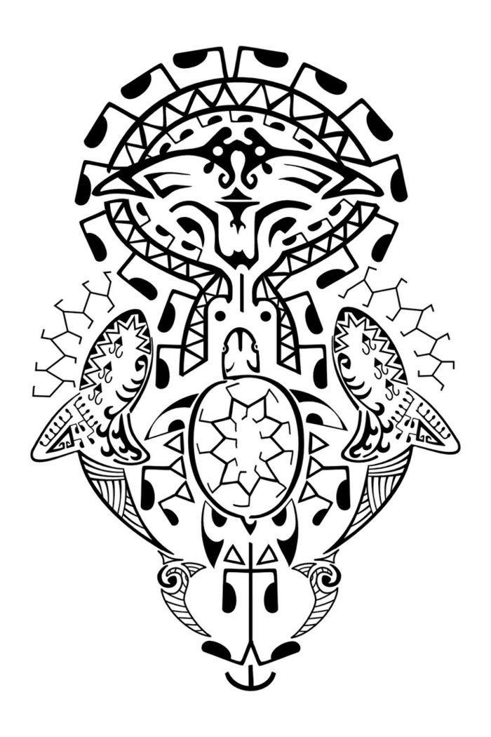 Tatuajes Antebrazo Diseno De Tatuaje Maori En Blanco Y Negro Con