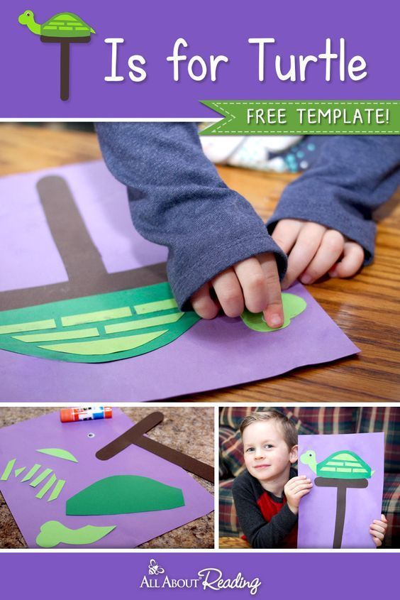 Printable Letter T Craft  T is for Turtle (FREE Download) - Letter t crafts, Letter a crafts, Preschool letter crafts, Alphabet crafts preschool, Turtle activities, T craft - Looking for a printable letter T craft for your preschooler  This  T is for Turtle  craft is perfect for practicing the letter T!