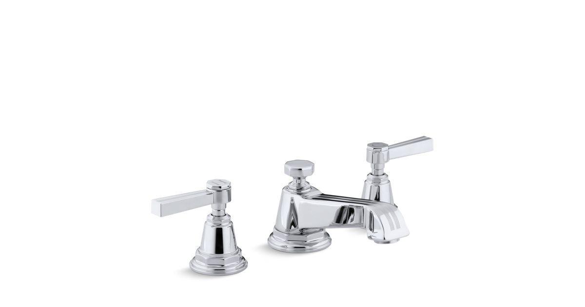 The Water Saving K 13132 4b Bath Sink Faucet Has Ergonomic Ada