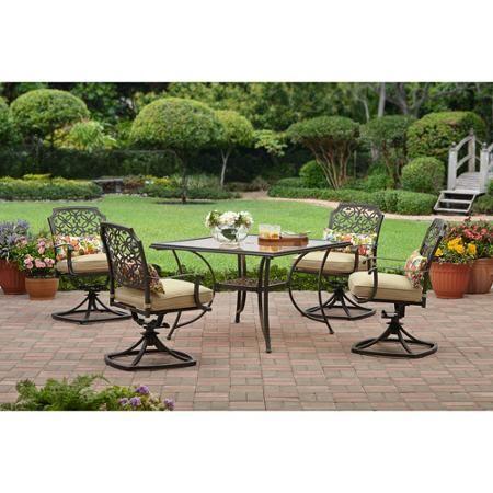 better homes and gardens bellerive park 5 piece patio dining set rh in pinterest com