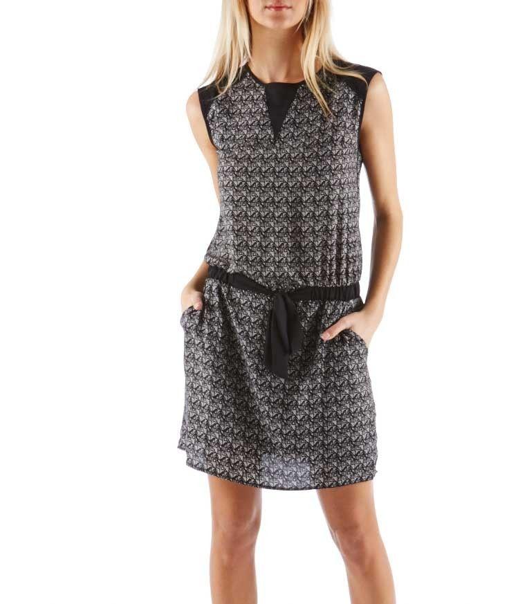 e36333319ca460 Camaieu robe bleu et blanche | Mode femme | Robe, Robe femme et ...