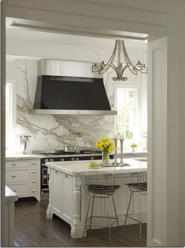 60 marvelous white kitchen backsplash ideas kitchen pinterest rh pinterest com