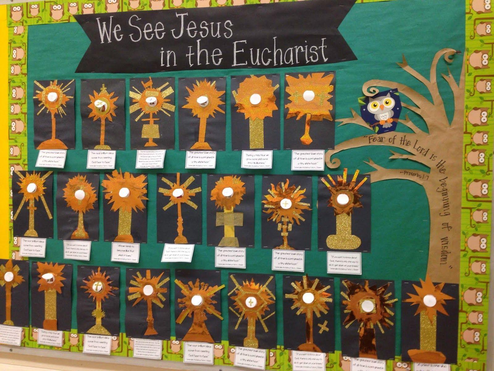 Religious Education Catholic School Catechist Lesson Plans Crafts Printables Sacraments Fulton