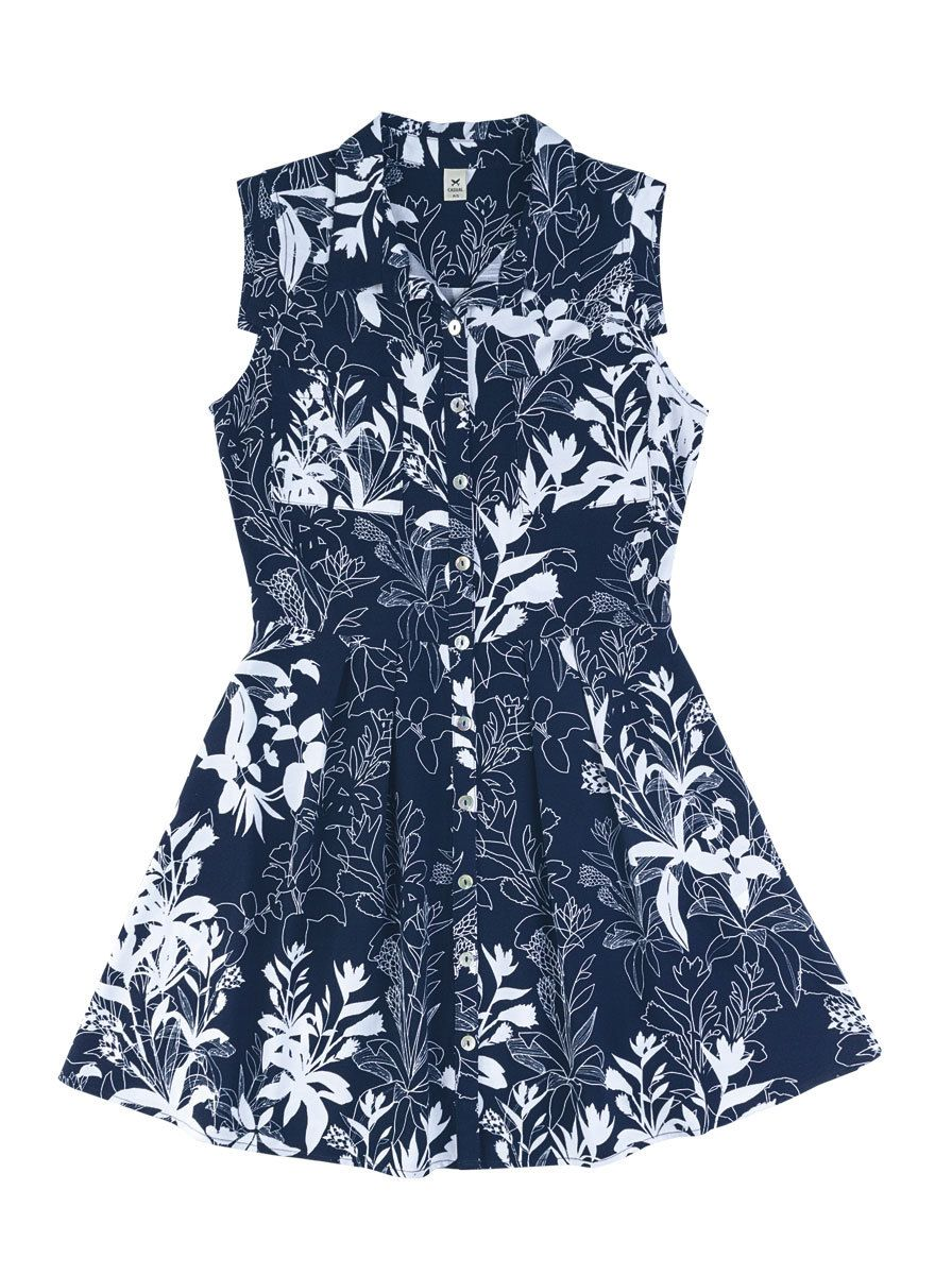 Vestido Curto Em Viscose Estampada | Vestidos | Feminino | Hering