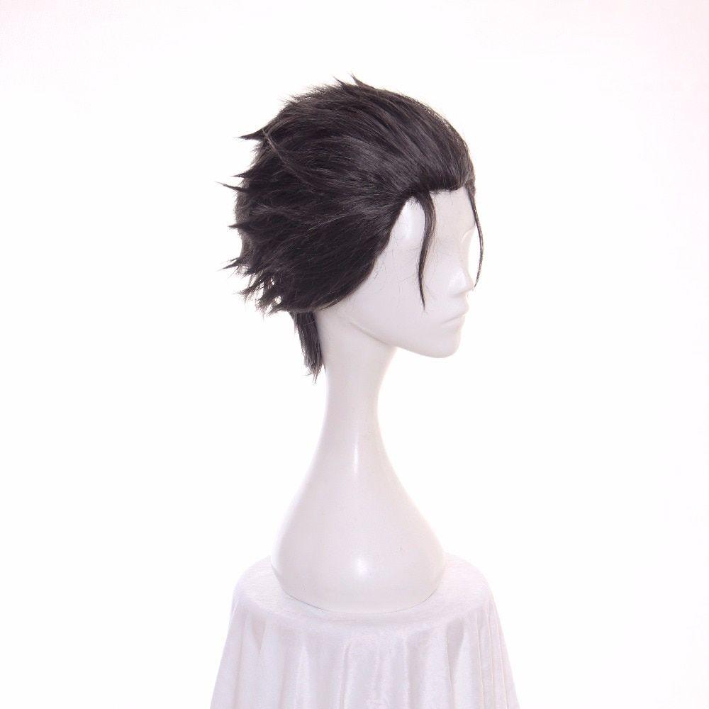 Ccutoo 12inch Men S Black Grey Mix Hair Re Zero Kara Hajimeru Isekai Seikatsu Subaru Natsuki Short Synthetic Cosplay Wig G Mixed Hair Cosplay Wigs Casual Women
