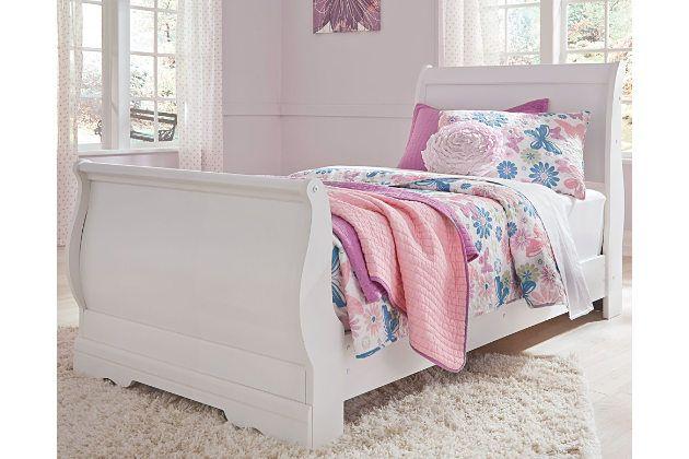 Best Anarasia Queen Sleigh Bed Ashley Furniture Homestore In 400 x 300