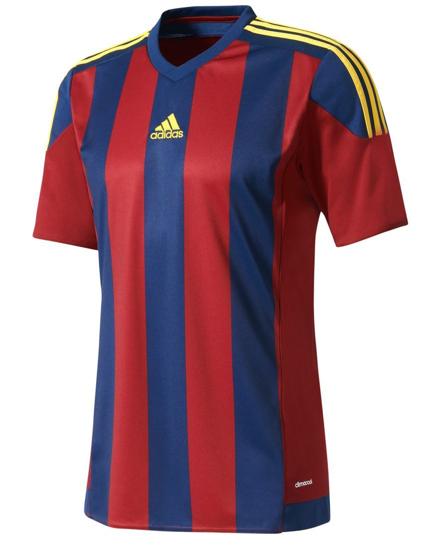 85c9af330 adidas Men s ClimaCool Striped Soccer Jersey
