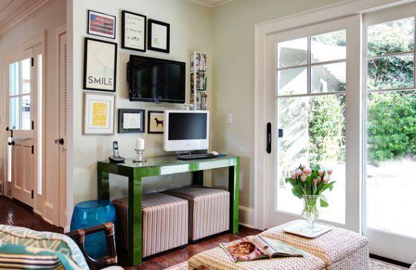 Designer Büro u2013 Wie sieht der moderne Arbeitsplatz heutzutage aus - modernes wohnzimmer grun
