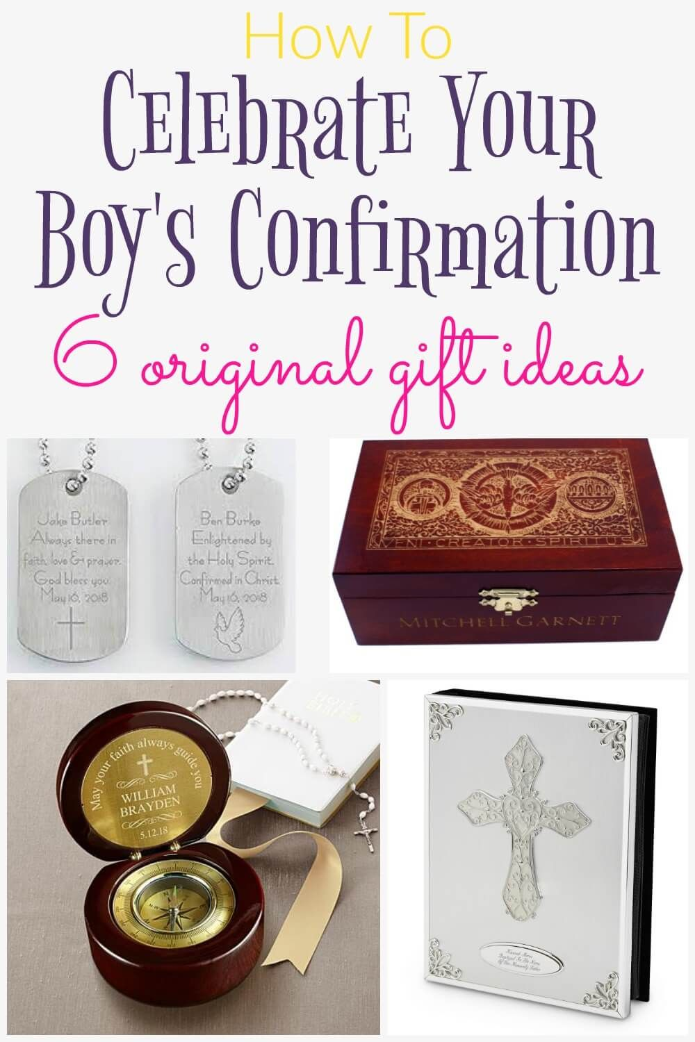 What Is A Good Confirmation Gift For A Boy Ideas